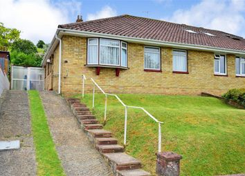 Thumbnail 2 bed semi-detached bungalow for sale in Cowley Drive, Woodingdean, Brighton, East Sussex