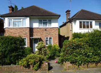 Thumbnail 2 bed flat to rent in Harlyn Drive, Pinner