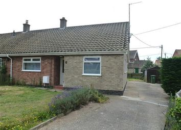 Thumbnail 2 bedroom bungalow to rent in Fengate, Heacham, King's Lynn
