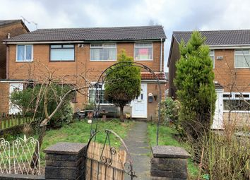 Thumbnail 3 bed semi-detached house for sale in Briarmere Walk, Chadderton, Oldham