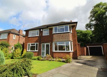 Thumbnail 3 bed detached house for sale in Beechwood Drive, Worsley, Manchester