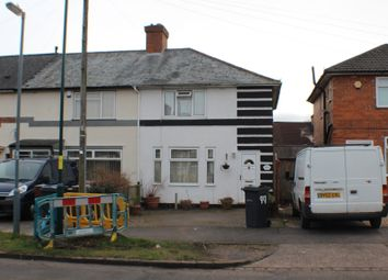 Thumbnail 3 bed end terrace house to rent in Mapleton Road, Hall Green, Birmingham, West Midlands