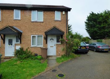 Thumbnail 2 bedroom end terrace house for sale in Rudyard Close, Luton