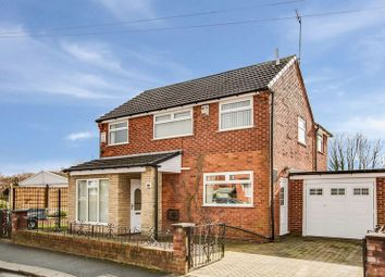 Thumbnail 4 bedroom detached house for sale in Ashford Avenue, Eccles, Manchester