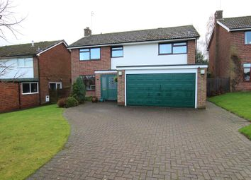 Thumbnail 4 bed detached house for sale in Hollies Close, Newton Solney, Burton-On-Trent