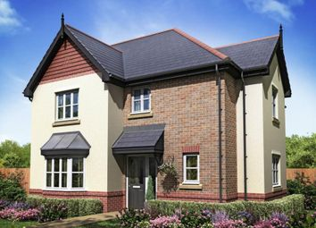 "Thumbnail 4 bed detached house for sale in ""Plot 109 - The Clifford"" at Cuddington Lane, Cuddington, Northwich"