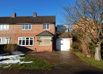 Thumbnail 4 bedroom semi-detached house for sale in Clun Road, Northfield, Birmingham