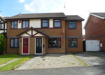 Thumbnail 3 bed semi-detached house to rent in Kestrel Drive, Coppenhall, Crewe, Cheshire