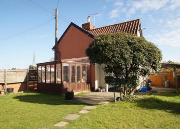 Thumbnail 3 bedroom end terrace house for sale in Leiston Road, Knodishall, Saxmundham