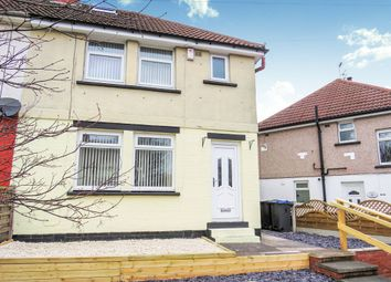 Thumbnail 3 bed semi-detached house for sale in Delius Avenue, Eccleshill, Bradford