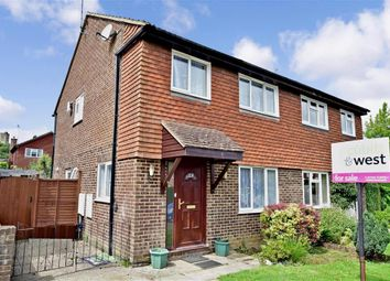 Thumbnail 3 bed semi-detached house for sale in Bourg De Peage Avenue, East Grinstead, West Sussex