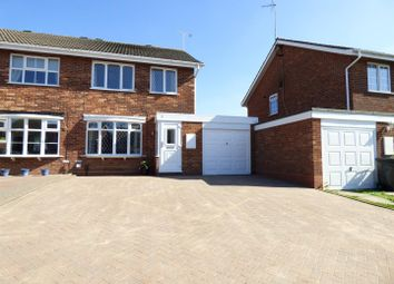 Thumbnail 3 bed semi-detached house for sale in Gateley Close, Redditch