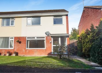 Thumbnail 3 bed semi-detached house for sale in Hine Road, Taunton