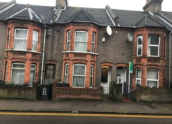 Thumbnail 4 bedroom terraced house to rent in Ashburnham Road, Luton