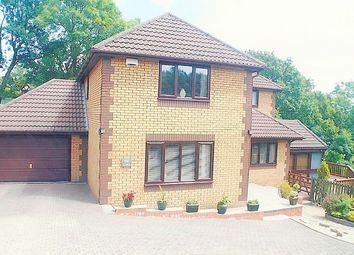 Thumbnail 4 bed detached house for sale in Fenwick Drive, Brackla, Bridgend.