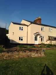 Thumbnail 2 bedroom semi-detached house to rent in Springetts Lane, Weston Under Penyard, Ross-On-Wye
