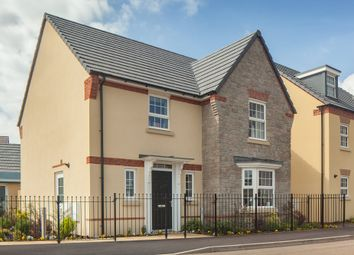 """Thumbnail 4 bed detached house for sale in """"Shenton"""" at Tiverton Road, Cullompton"""