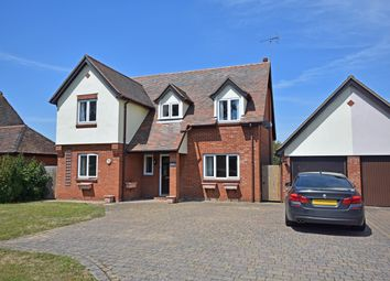 Thumbnail 4 bed detached house for sale in Manningtree Road, Stutton, Ipswich