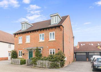 Thumbnail 3 bed semi-detached house for sale in Ellis Road, Broadbridge Heath, West Sussex