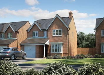 "Thumbnail 4 bed detached house for sale in ""The Hemsby"" at Winchester Road, Boorley Green, Botley"
