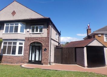 Thumbnail 3 bed semi-detached house to rent in Borough Road, Tranmere, Birkenhead