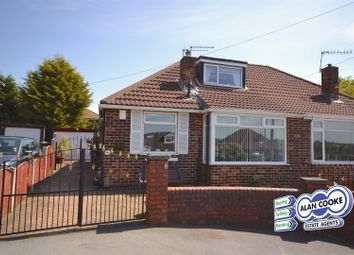 Thumbnail 2 bed semi-detached bungalow for sale in Sunset View, Meanwood, Leeds