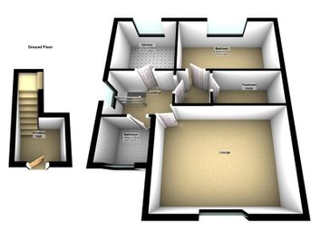 Thumbnail 1 bed property to rent in Halls Road, Tilehurst, Reading