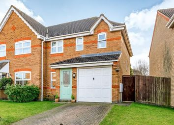 Thumbnail 3 bed semi-detached house for sale in Hans Apel Drive, Brackley, Northamptonshire