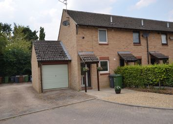 Thumbnail 1 bed end terrace house to rent in St Kyneburgha Close, Castor, Peterborough
