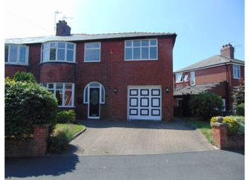 Thumbnail 4 bed semi-detached house for sale in Longfield Road, Oldham