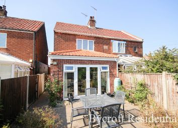 Thumbnail 2 bed semi-detached house for sale in Old Chapel Road, Winterton-On-Sea, Great Yarmouth