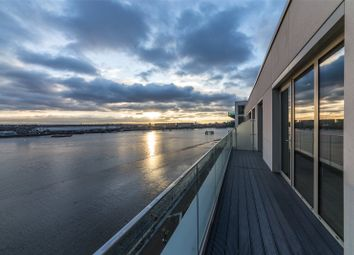 Thumbnail 3 bedroom flat for sale in Liner House, 3 Royal Wharf Walk, London