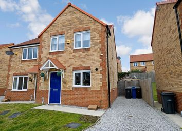 Thumbnail 3 bed semi-detached house for sale in Far Moor Close, Goldthorpe, Rotherham