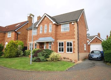 Thumbnail 3 bed detached house for sale in Hadleigh Close, Great Sankey, Warrington