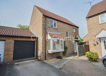 Thumbnail 4 bedroom detached house for sale in Glebe Road, Stilton, Peterborough