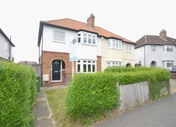 Thumbnail 3 bed semi-detached house for sale in Poplar Road, North Cheam, Sutton