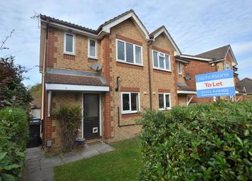 Thumbnail 3 bed semi-detached house to rent in Danvers Drive, Church Crookham, Fleet