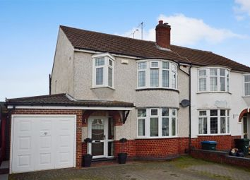 Thumbnail 3 bed semi-detached house for sale in Salisbury Avenue, Styvechale, Coventry