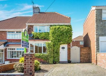Thumbnail 2 bed semi-detached house for sale in Cragside Gardens, Lobley Hill, Gateshead
