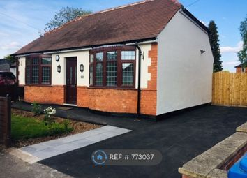 Thumbnail 2 bed bungalow to rent in Littleover Crescent, Derby