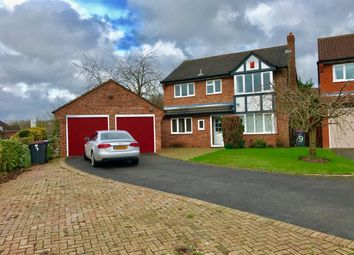 Thumbnail 4 bedroom detached house to rent in Swan Gate, Telford