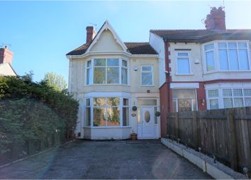 Thumbnail 4 bed end terrace house for sale in Moss Lane, Liverpool