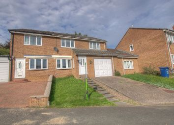 Thumbnail 4 bed semi-detached bungalow for sale in Doddington Close, Newcastle Upon Tyne