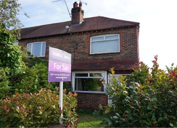 Thumbnail 3 bedroom end terrace house for sale in Dominion Road, Worthing