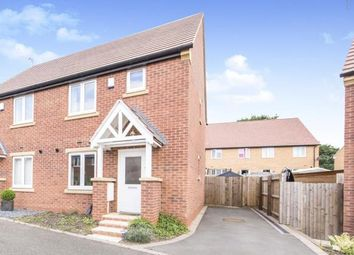 Thumbnail 2 bed semi-detached house for sale in Primrose Close, Shepshed, Loughborough, Leicestershire