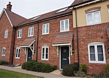 Thumbnail 2 bed terraced house to rent in Hilton Close, Bedford