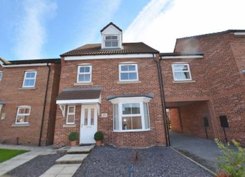 Thumbnail 4 bed detached house for sale in Pochard Drive, Scunthorpe