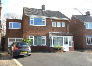 Thumbnail 4 bed detached house for sale in Cadgwith Drive, Allestree, Derby