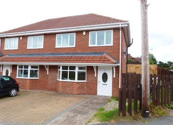 Thumbnail 3 bed semi-detached house to rent in Woolston Avenue, Congleton, Cheshire