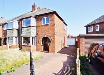 Thumbnail 3 bed semi-detached house for sale in Cottam Croft, Hemsworth, Pontefract